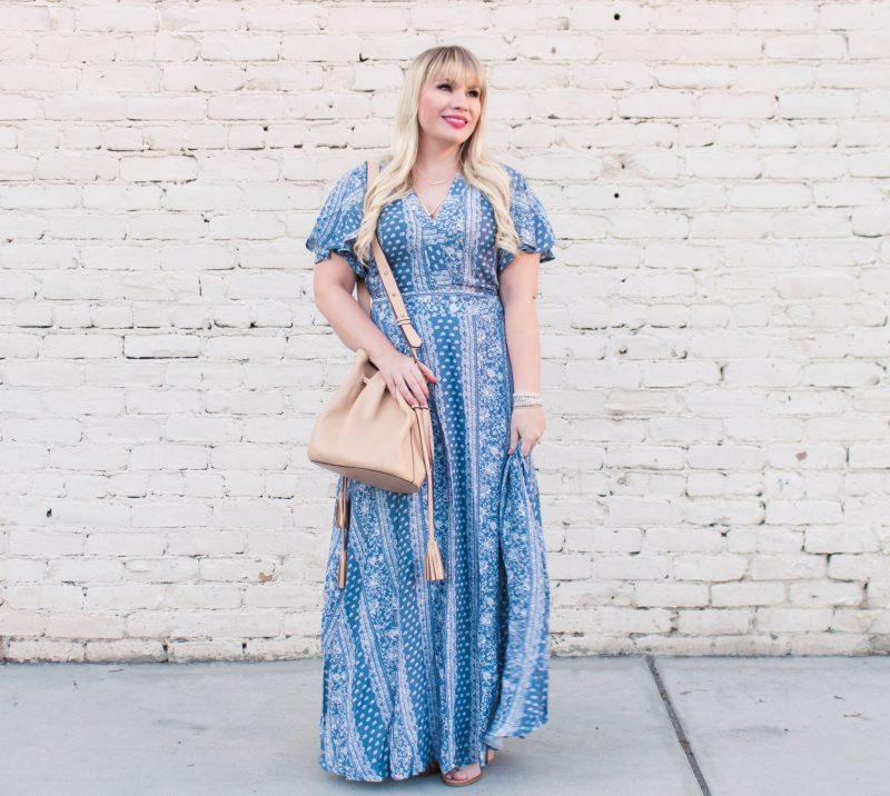 How to Wear Petite Maxi Dresses