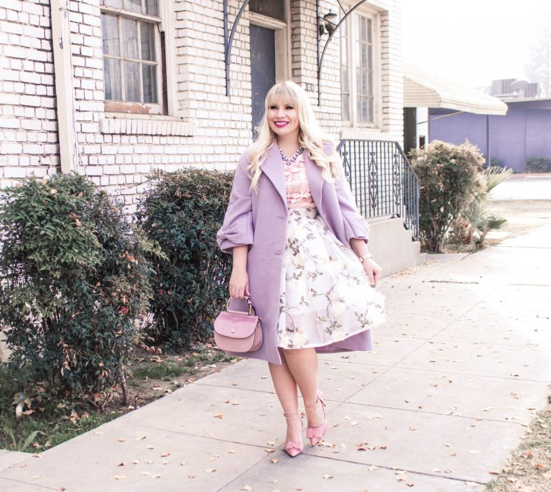 How to Wear Pastels Clothing in the Winter & FF Link Up