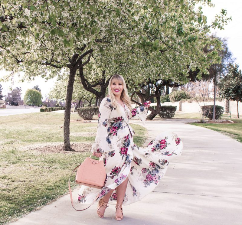 My Favorite Floral Maxi Dresses for Spring & Link Up