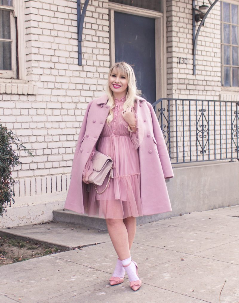 5 Tips for Styling Socks with Heels by popular California fashion blogger Lizzie in Lace
