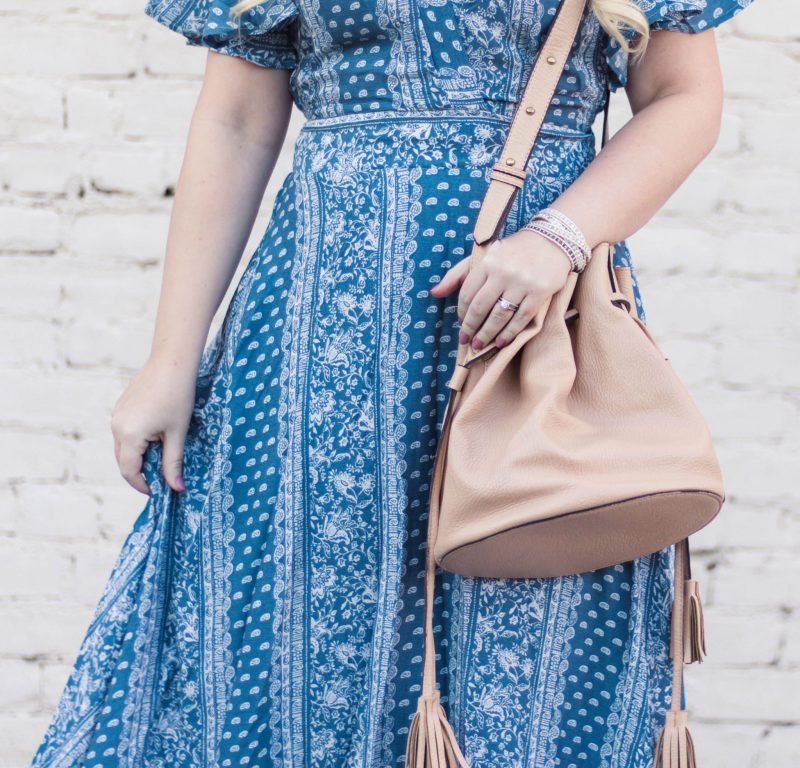 How to Wear Petite Maxi Dresses by popular California petite fashion blogger Lizzie in Lace