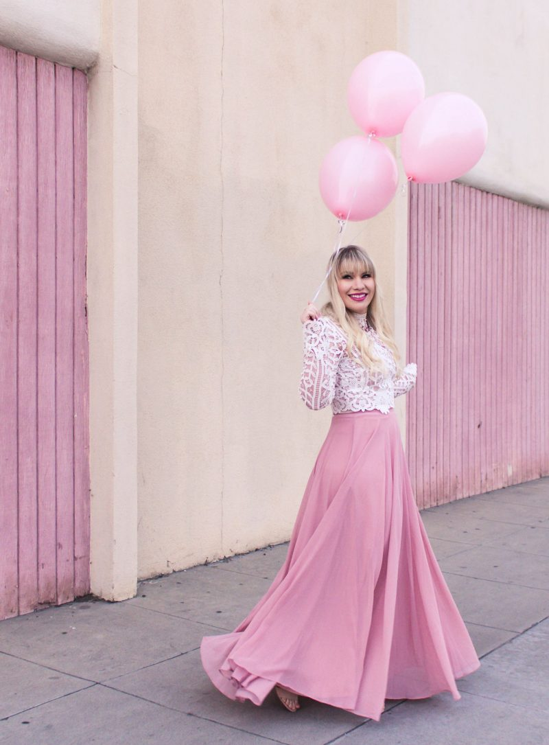 Lizzie in Lace Turns Three - Blogiversary by popular California fashion blogger Lizzie in Lace