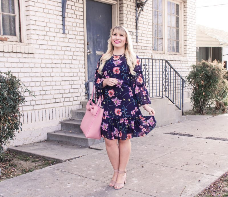 The Only Floral Dress You Need for Spring & Link Up