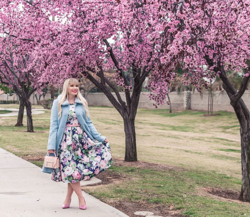 The Perfect Floral Easter Dress