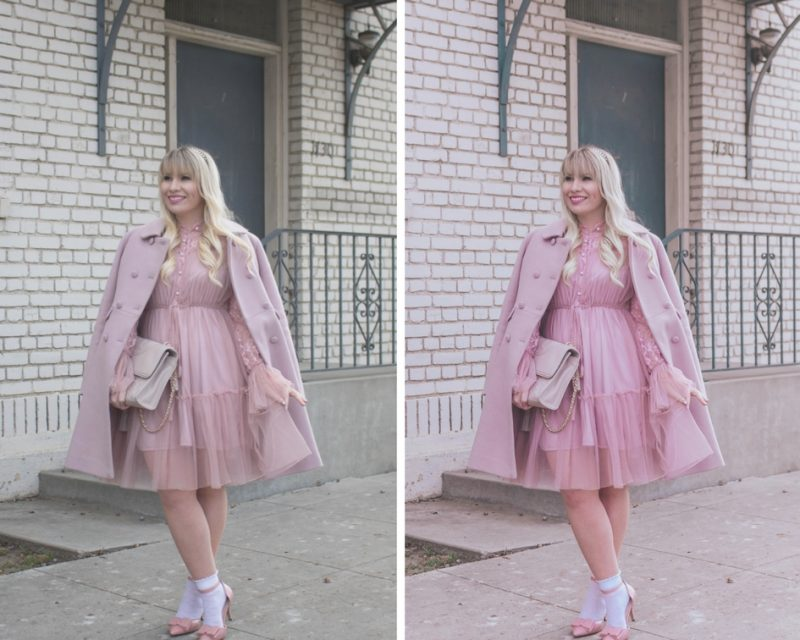 Dreamy Presets: Editing with the Millennial Pink preset by popular California fashion blogger Lizzie in Lace