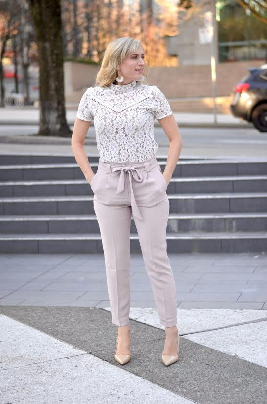 4 Stylish Spring Work Outfits featured by popular California fashion blogger, Lizzie in Lace