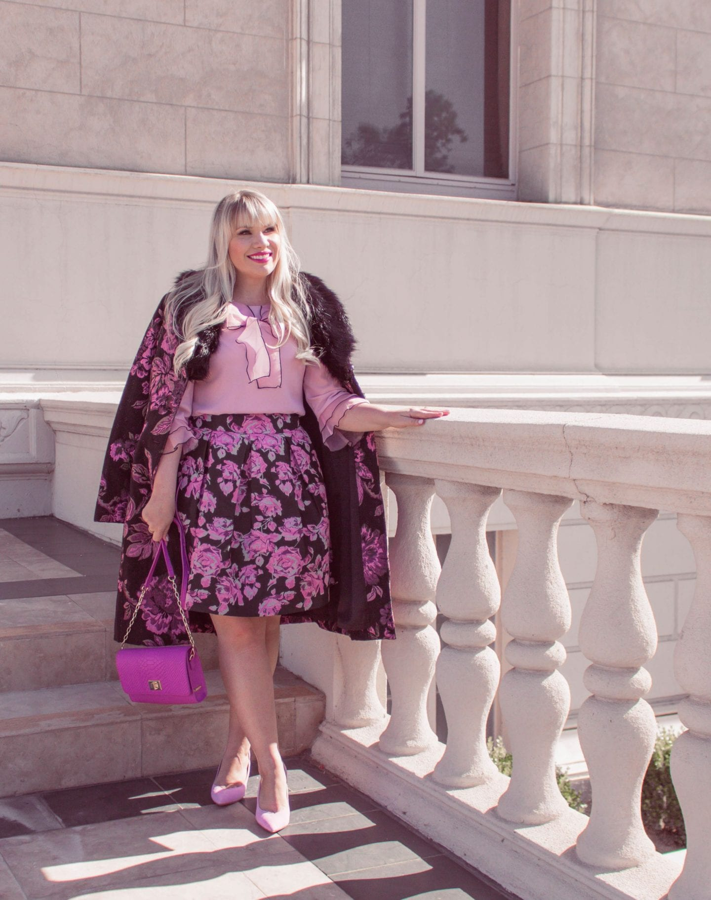 How to Mix Floral Prints Like a Pro featured by popular California style blogger, Lizzie in Lace