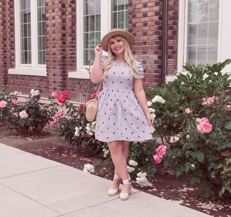 How I Met My Husband by popular California blogger, Lizzie in Lace