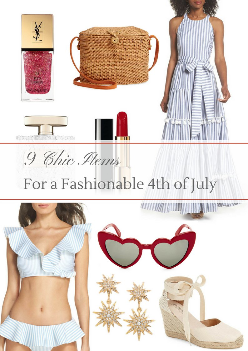 9 Chic Items for a Fashionable 4th of July