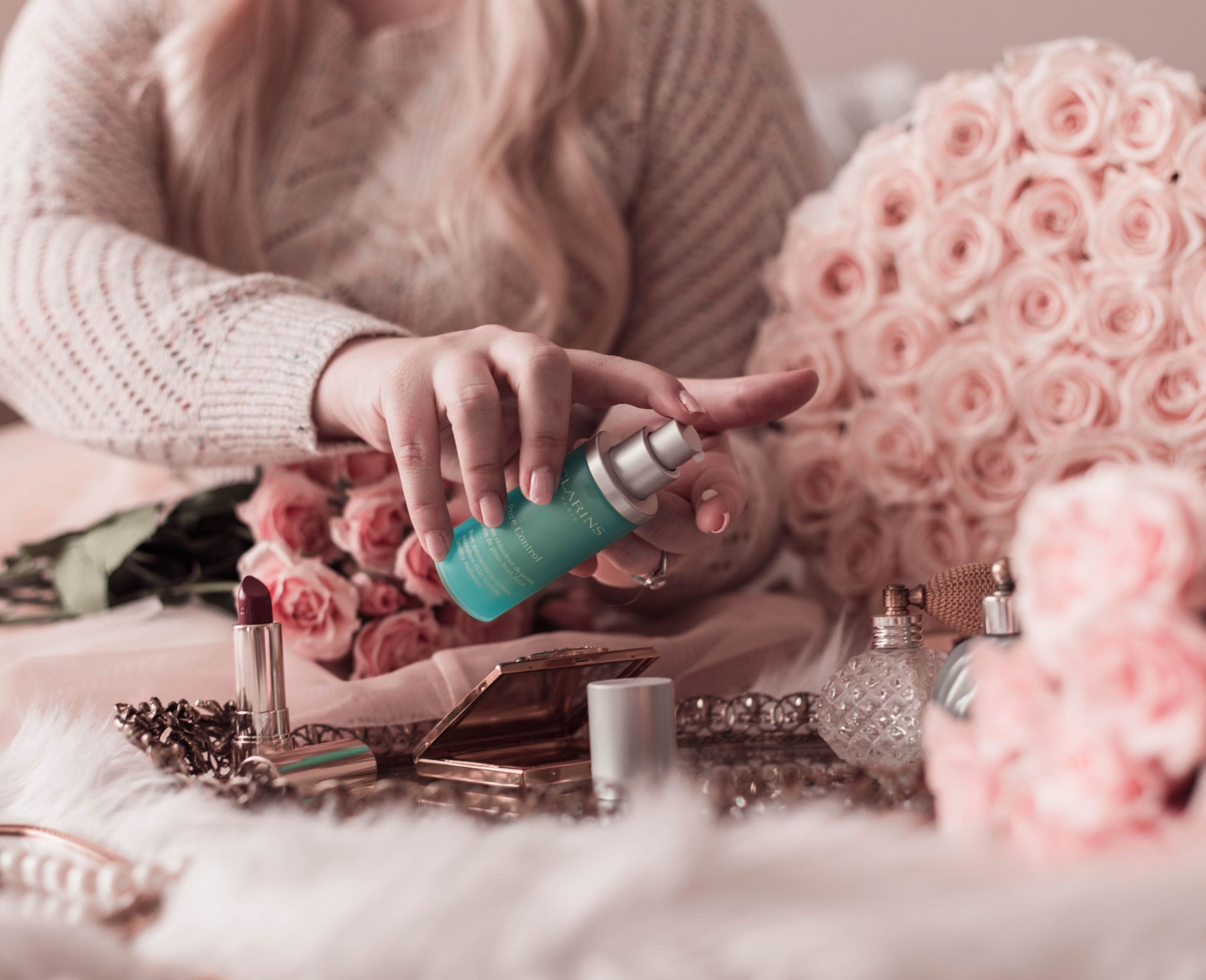 Elizabeth Hugen of Lizzie in Lace shares her quarantine skincare routine and Sephora sale faves