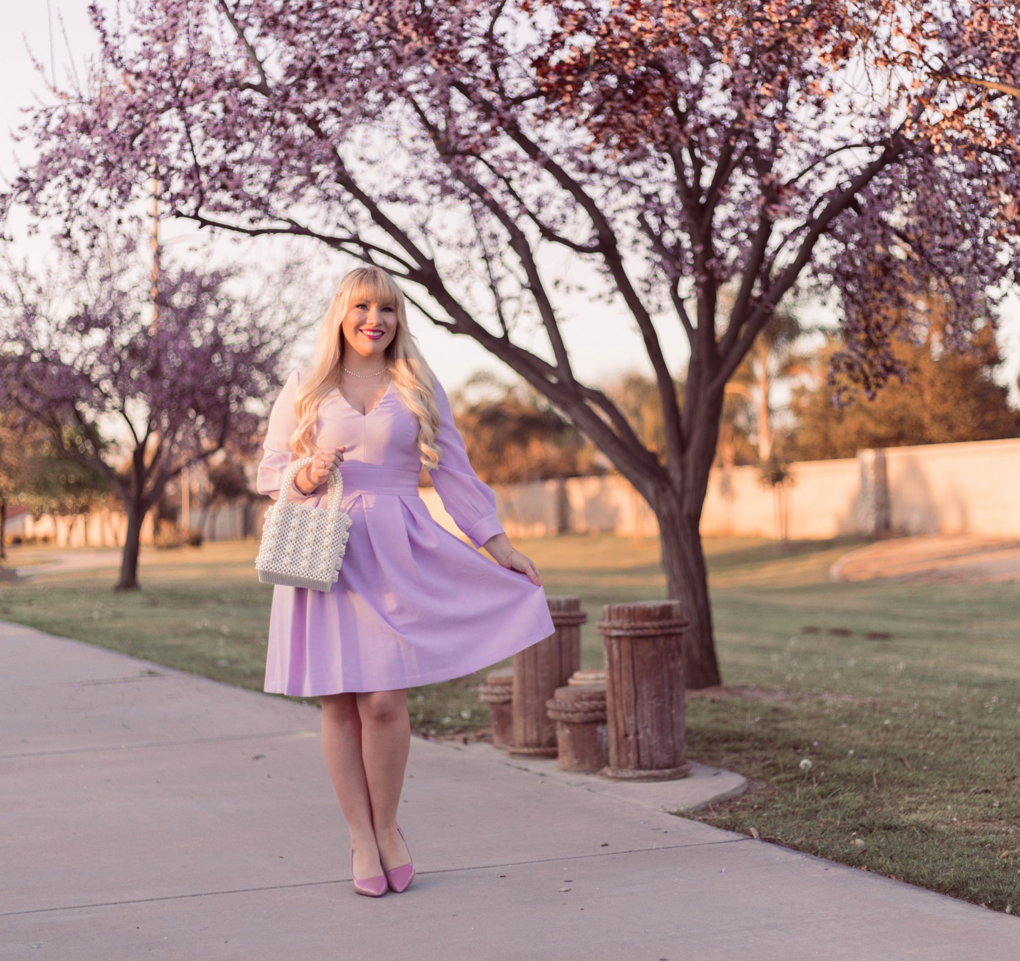 Feminine Easter Dress & Life Lately