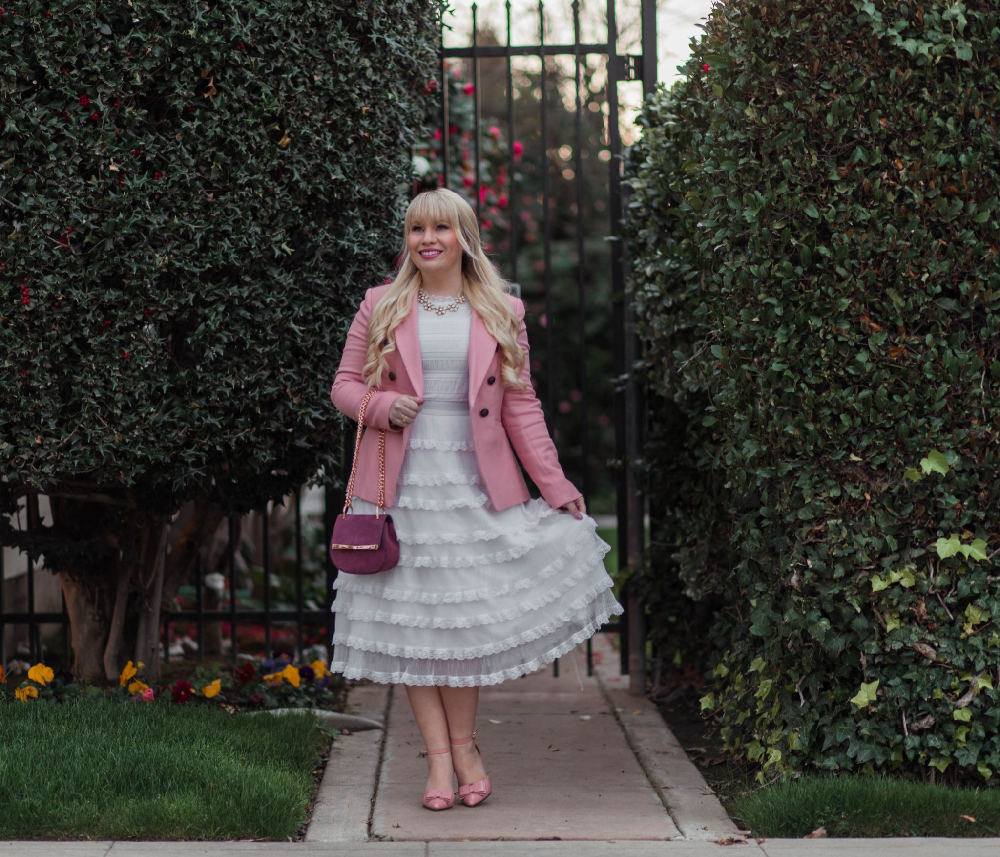 How to Style a Pink Blazer for Spring