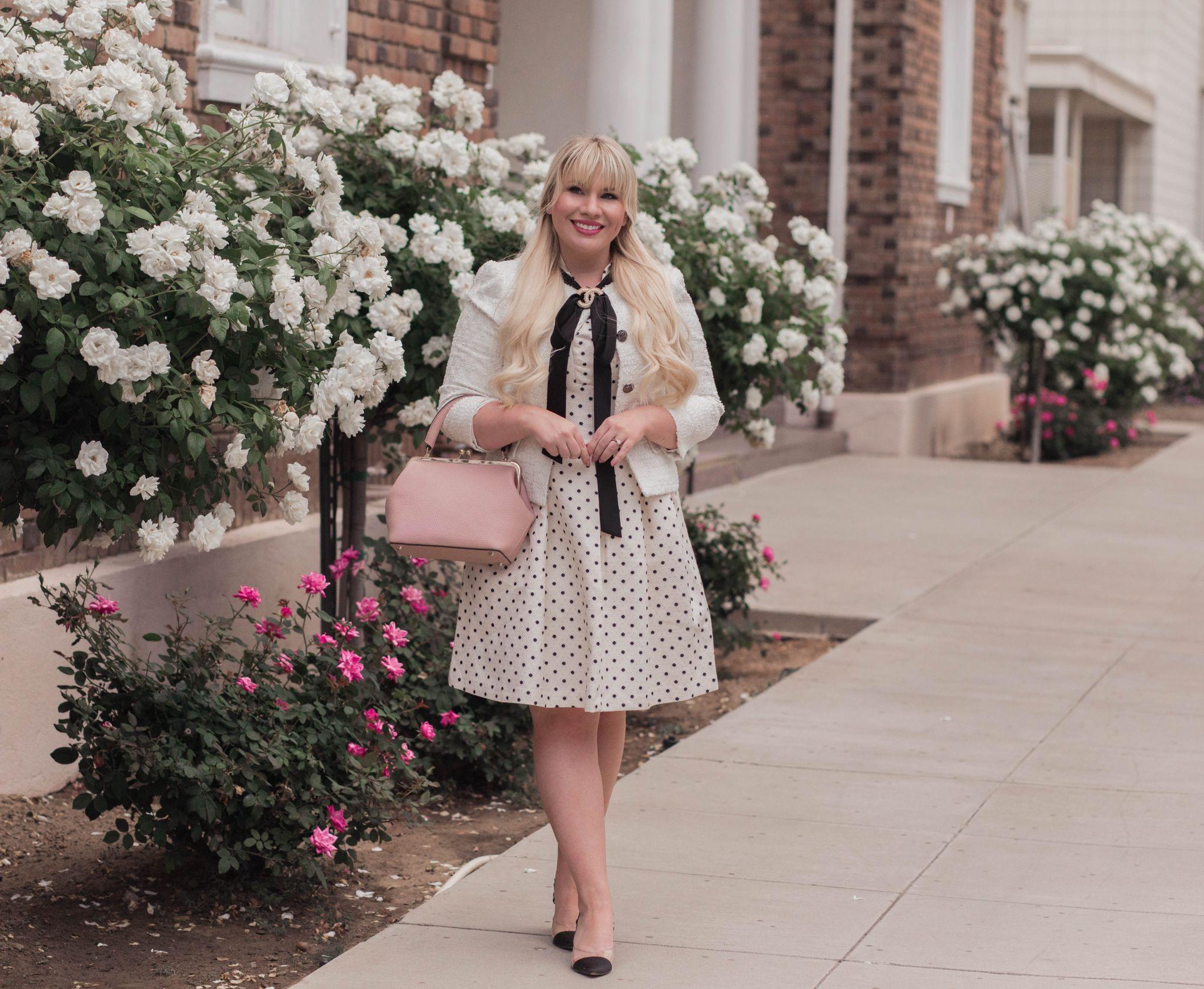 How to Look Professional in Polka Dots