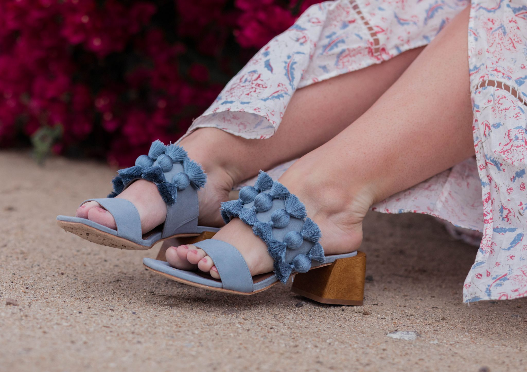 Elizabeth Hugen of Lizzie in Lace shares her girly shoe collection including these bernardo heels