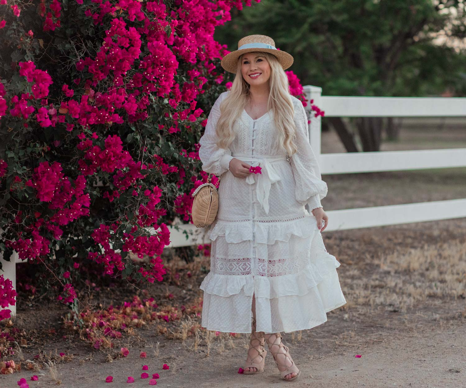 The Romantic White Summer Dress You Need This Season