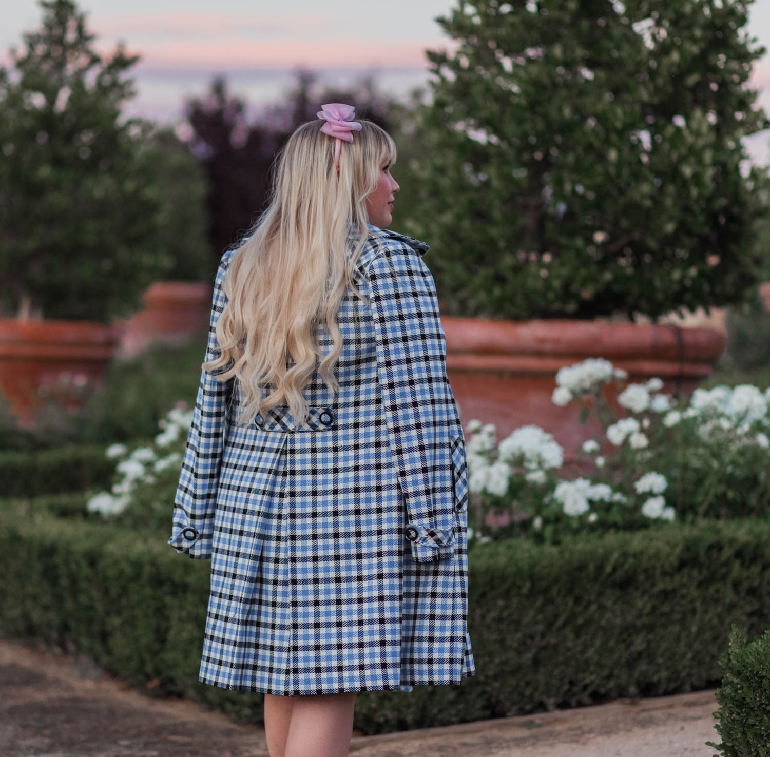 Elizabeth Hugen of Lizzie in Lace shares tips on how to Make Plaid Look More Feminine.
