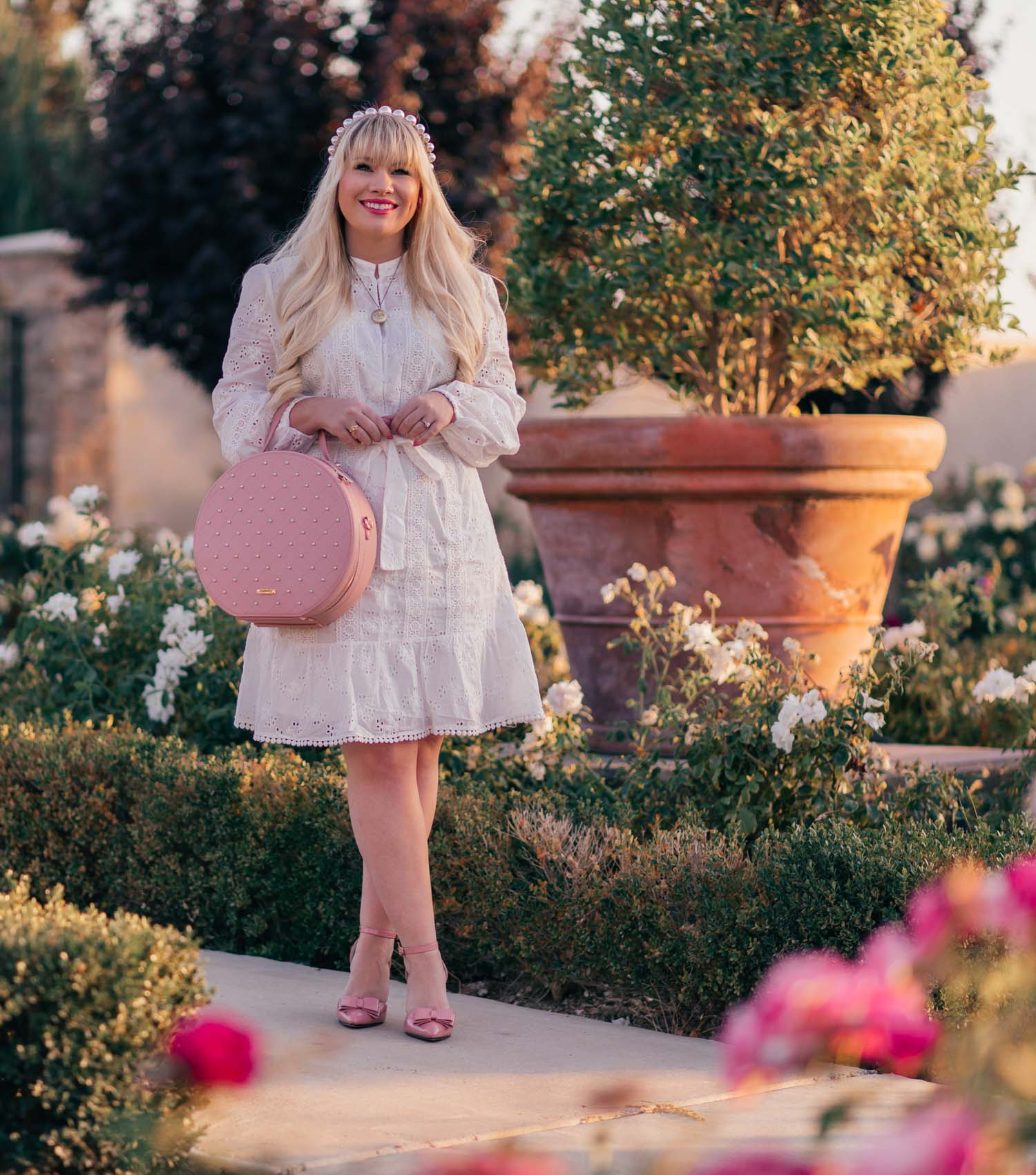 Elizabeth Hugen of Lizzie in Lace shares 12 Feminine Valentine's Day Outfit Ideas