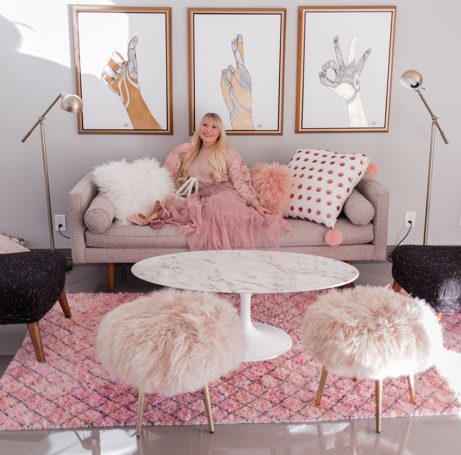 Elizabeth Hugen of Lizzie in Lace shares where to stay in Palm Springs