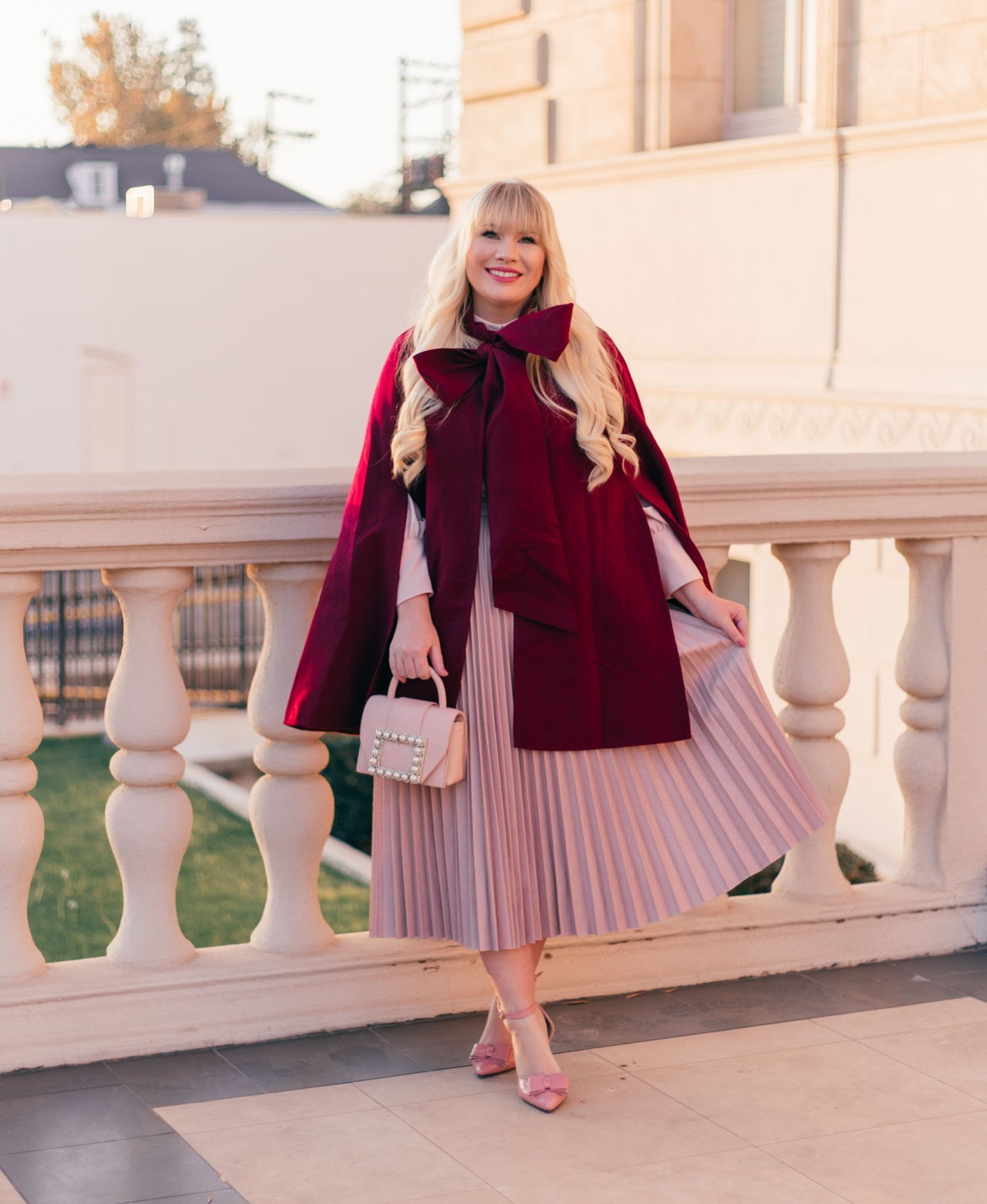 4 Easy Ways to Style a Cape for Fall