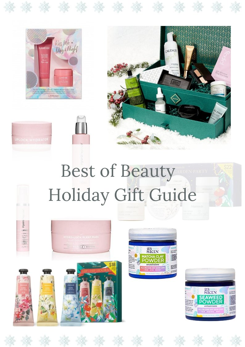Elizabeth Hugen of Lizzie in Lace shares her beauty holiday gift guide