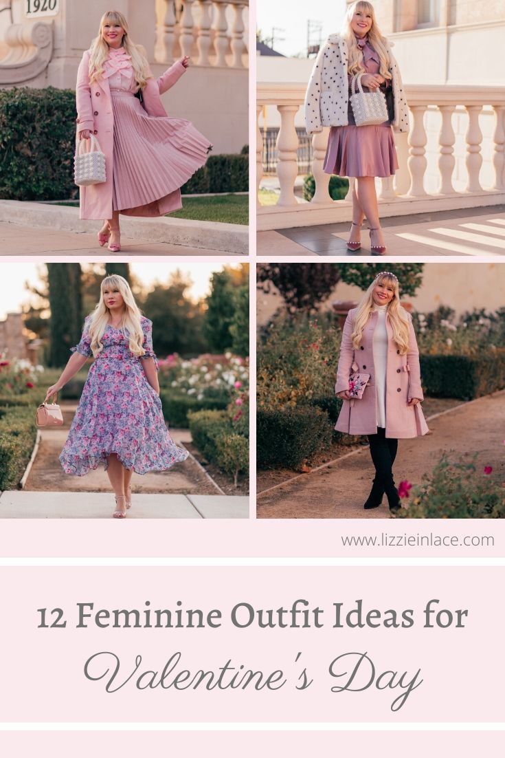 12 feminine valentine's day outfit ideas