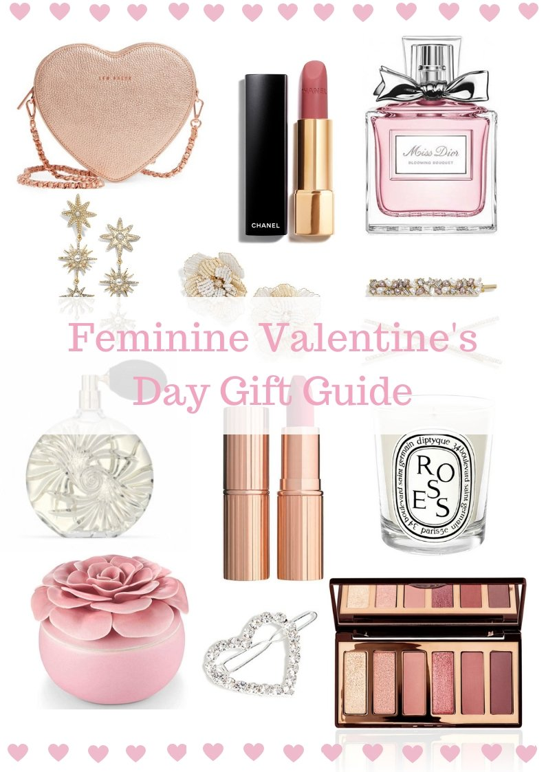 Elizabeth Hugen of Lizzie in Lace shares her Feminine Valentine's Day Gift Guide