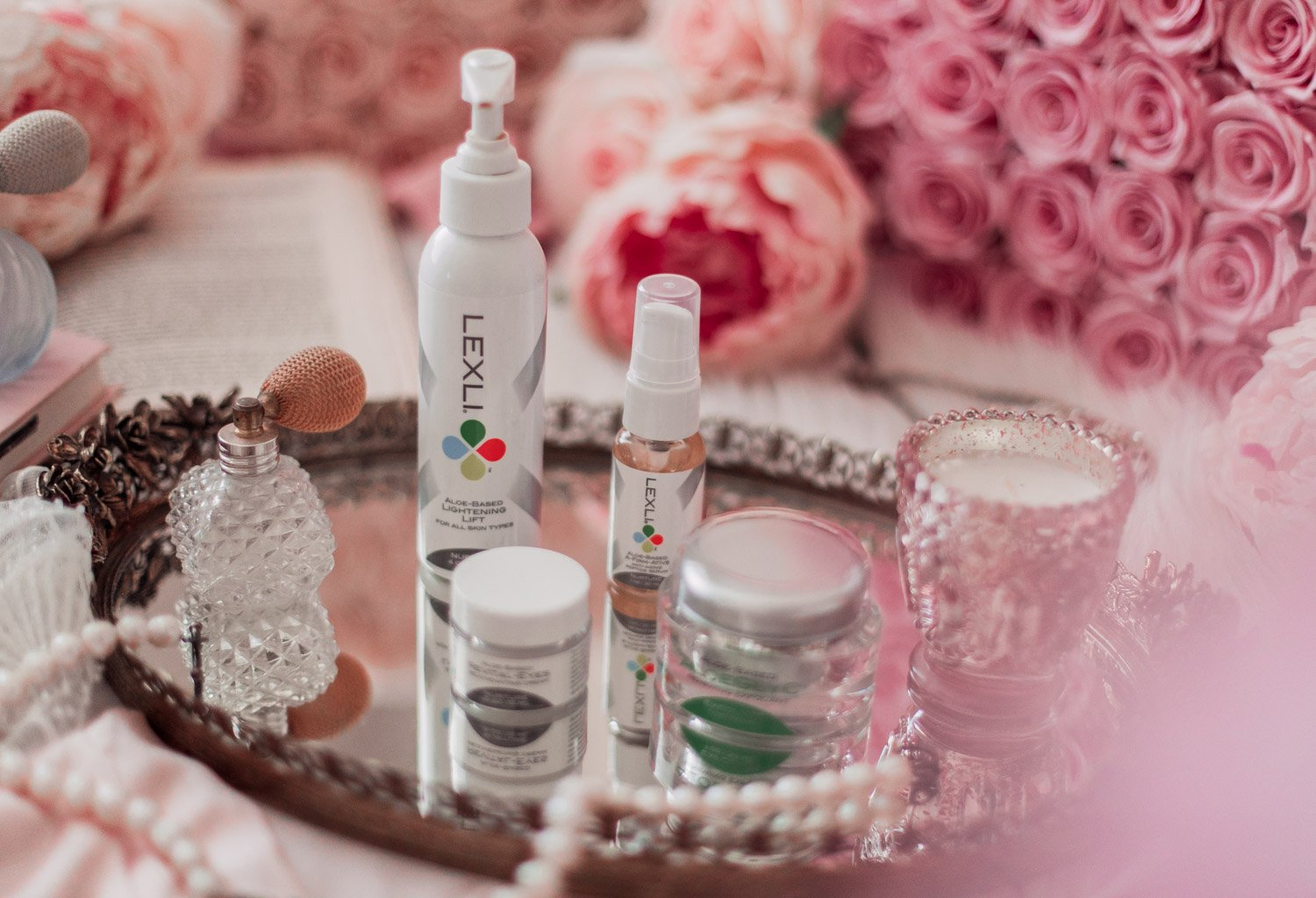 Elizabeth Hugen of Lizzie in Lace shares her self-care routine with Lexli products