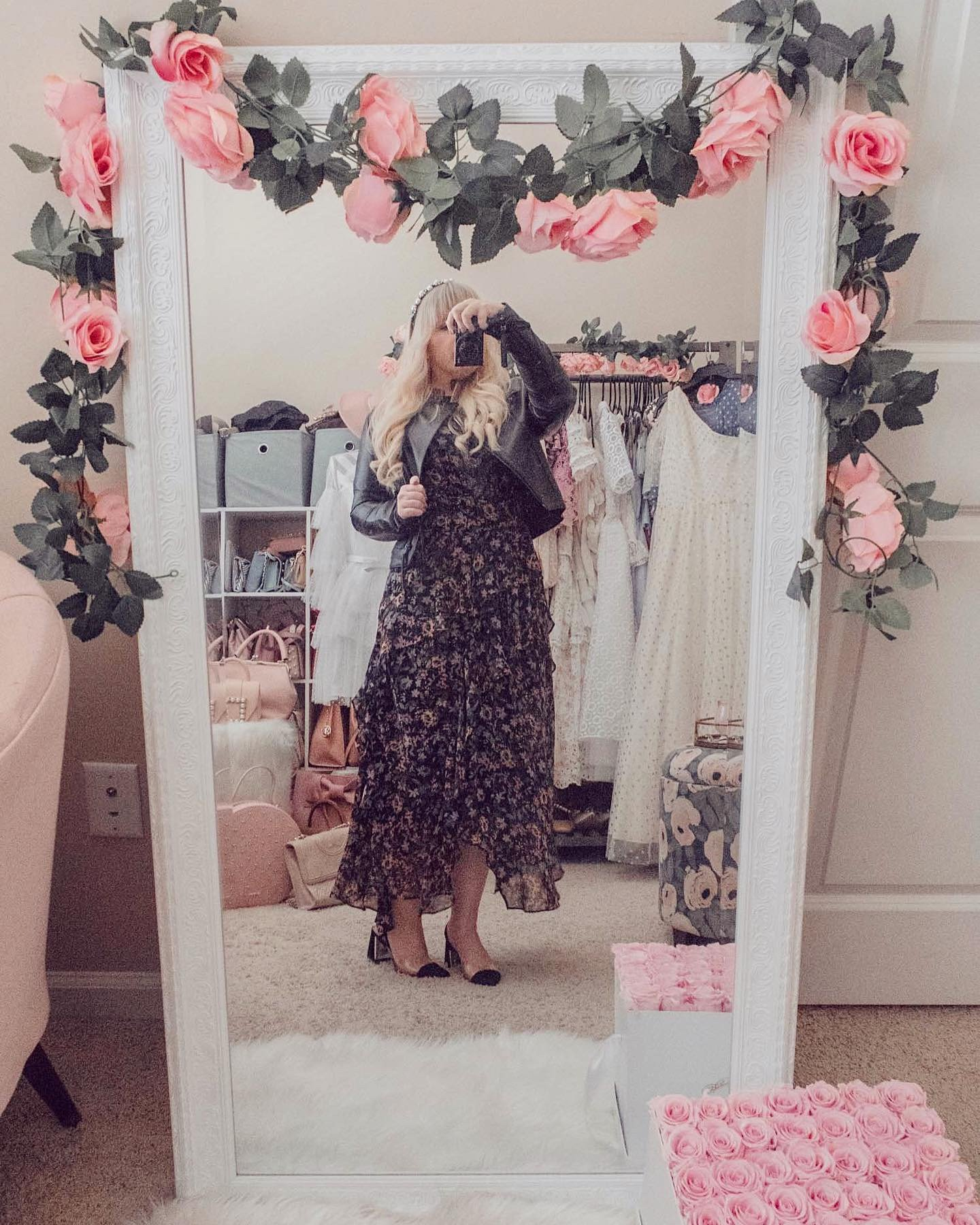 Elizabeth Hugen from Lizzie of Lace shares tips on how to look feminine and edgy