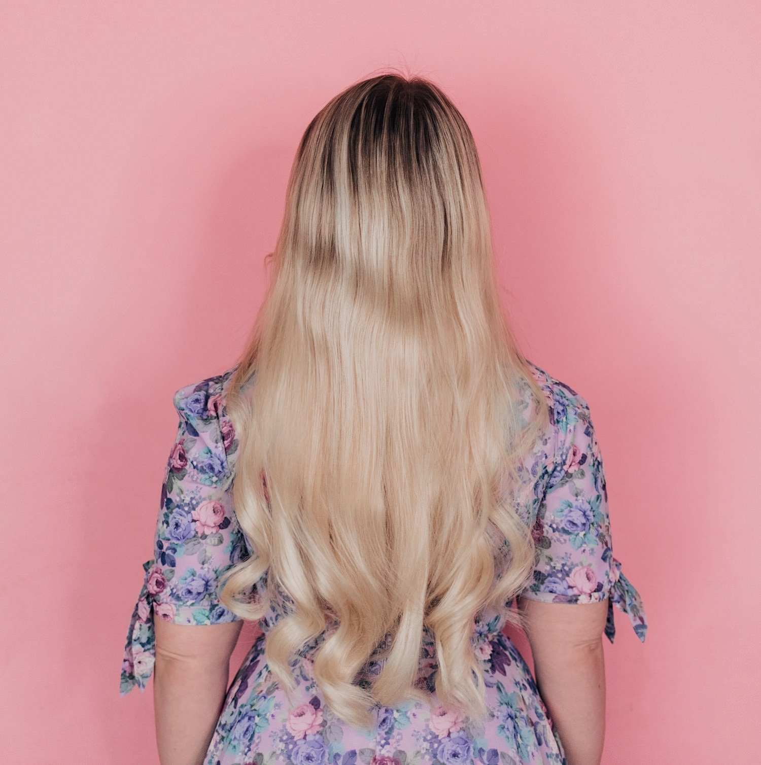 Fashion Blogger Elizabeth Hugen of Lizzie in Lace shares her Hidden Crown Extensions Review Update and a comparison of all the extensions including the original Hidden Crown