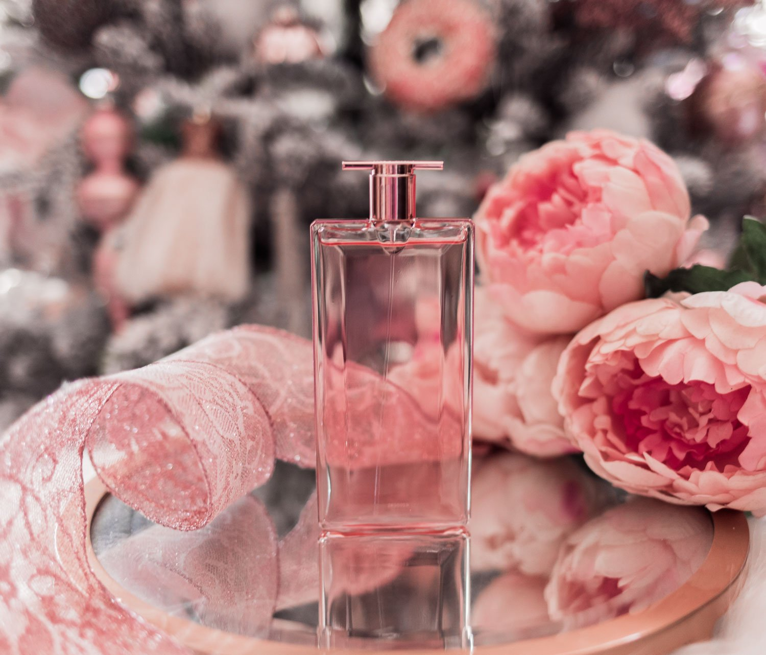 Fashion Blogger Elizabeth Hugen shares her Girly Girl Holiday Gift Guide including Lancome Idole