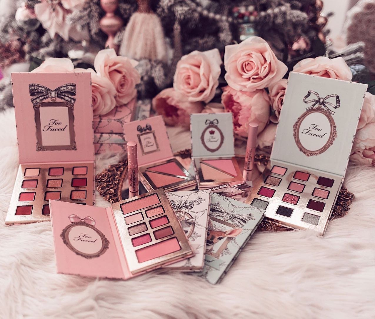 Fashion Blogger Elizabeth Hugen shares the Too Faced Enchanted Beauty holiday collection