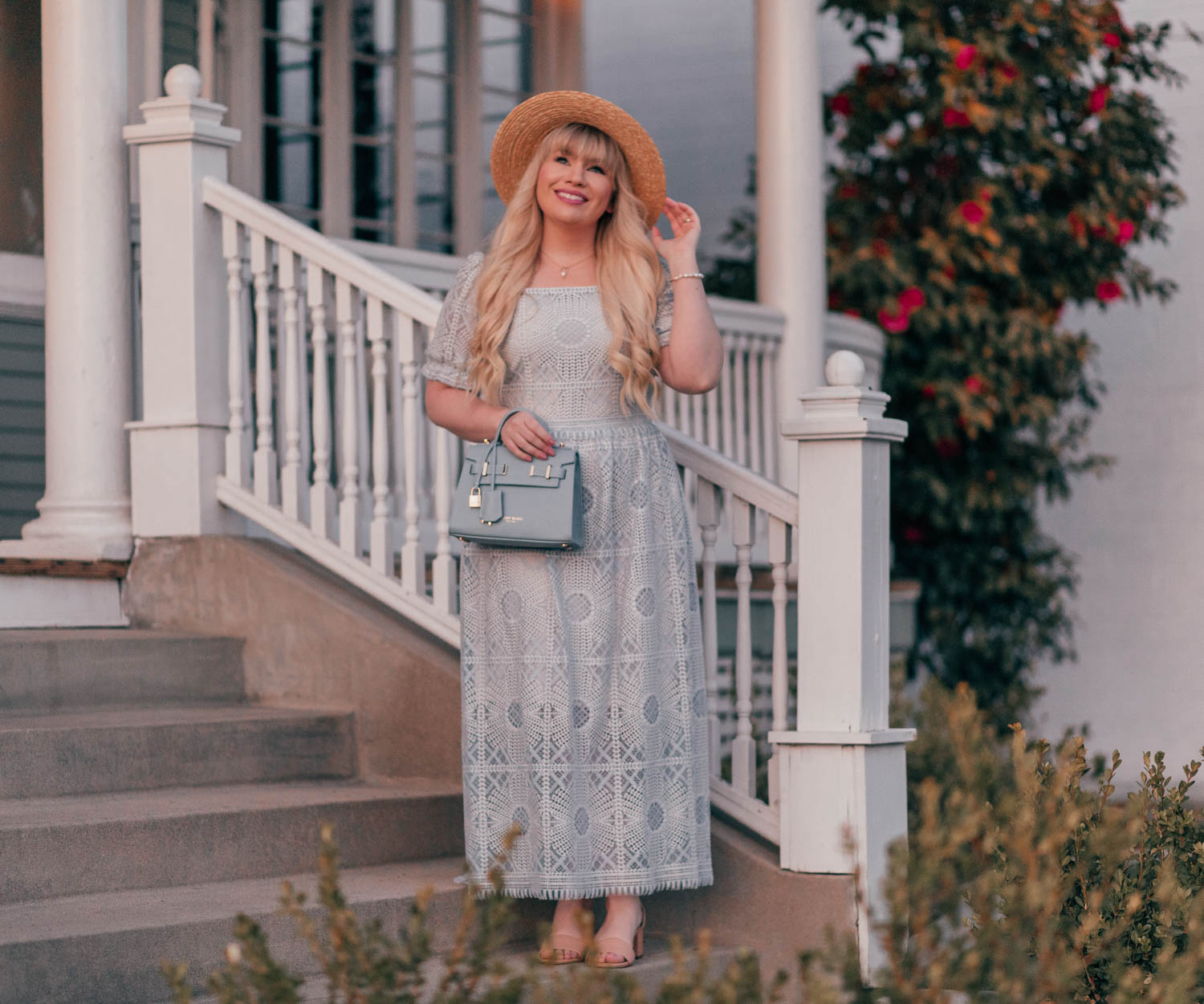Feminine Cottagecore Outfit Idea for Spring