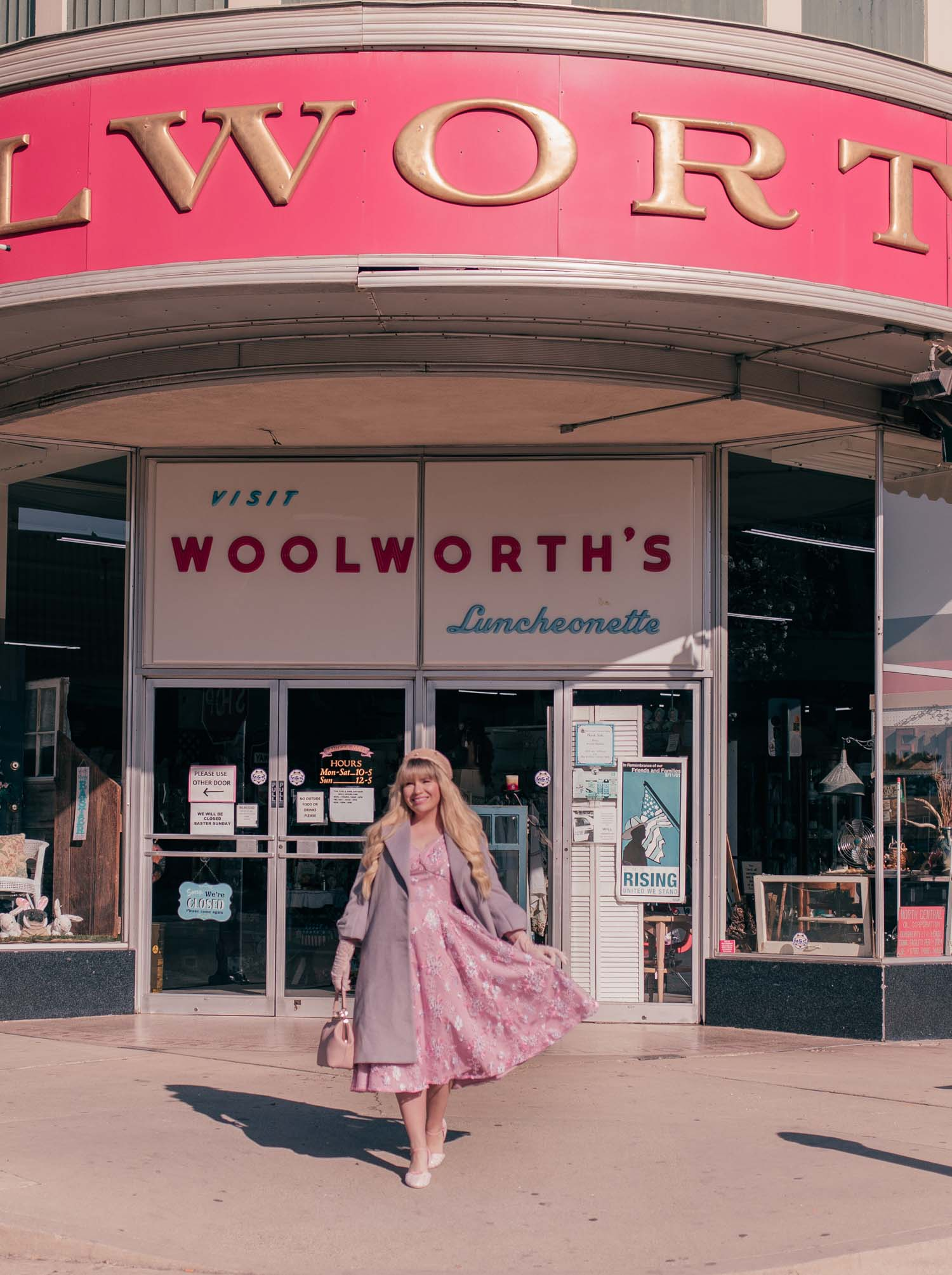 Mrs. Maisel Inspired Outfit & Woolworth's Antique Haul