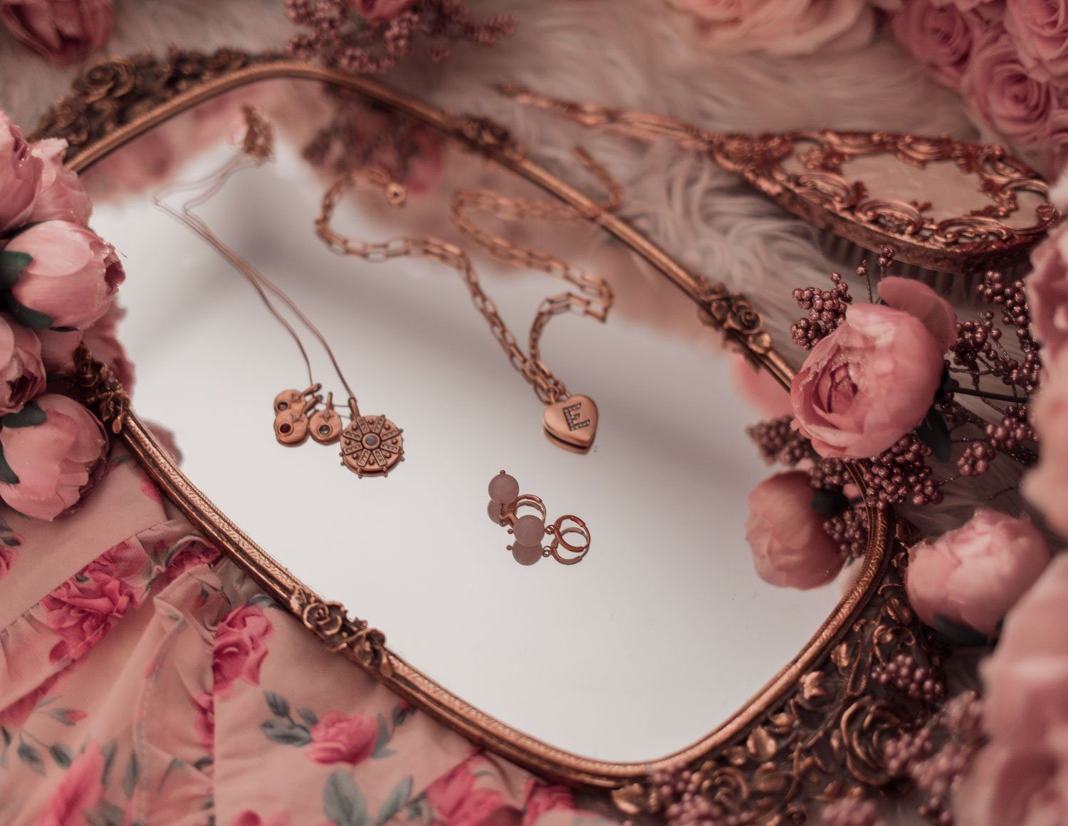 Feminine fashion blogger Elizabeth Hugen of Lizzie in Lace shares the Best Mother's Day gift ideas in her Mother's Day gift guide including these Sequin jewelry necklaces