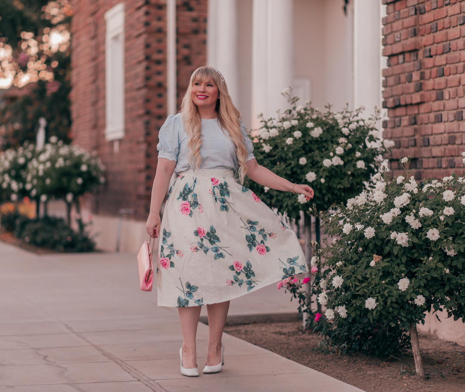 Floral Skirt Outfit & Chicwish Summer Haul