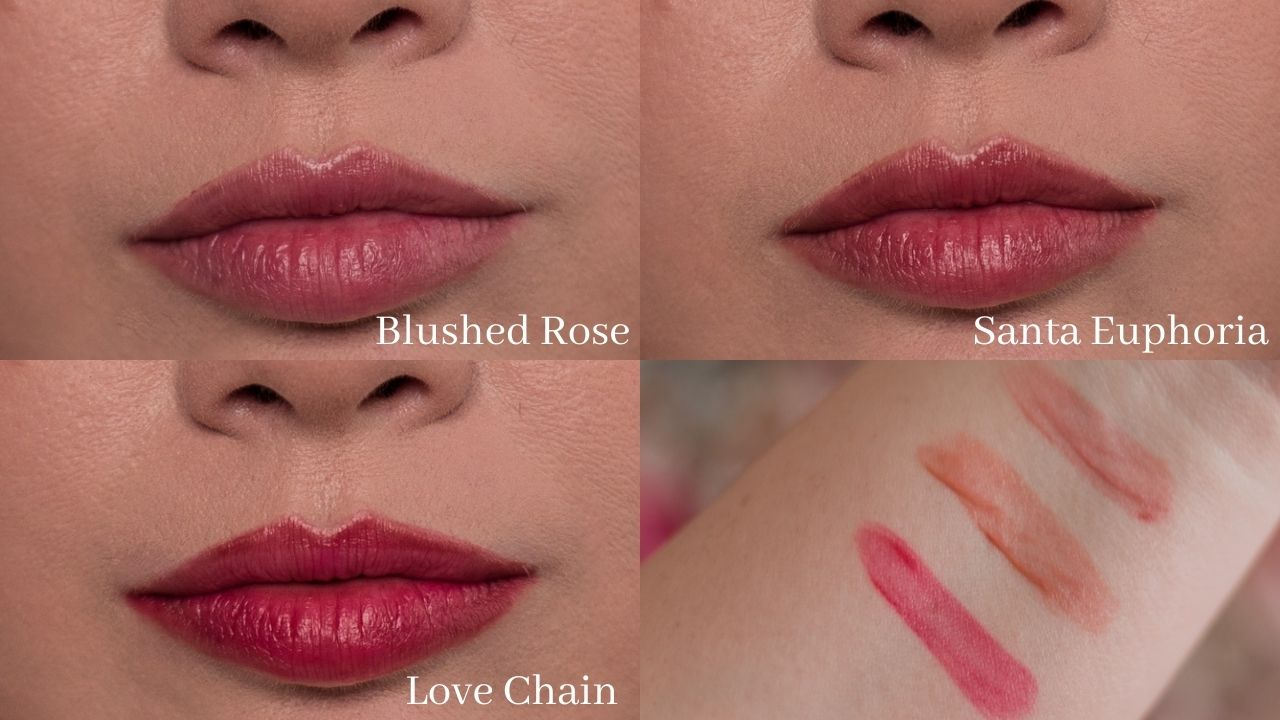 Feminine fashion and beauty blogger Elizabeth Hugen of Lizzie in Lace shares the Charlotte Tilbury Look of Love Collection Review and lipstick swatches including the Tinted Love lip and cheek tint