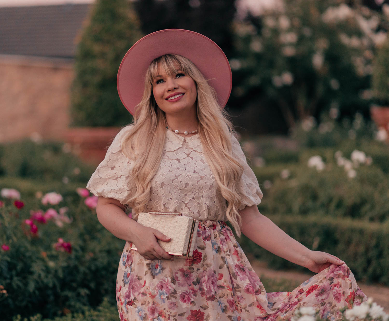 Feminine Fashion Blogger Elizabeth Hugen of Lizzie in Lace shares her top 5 Feminine Summer Essentials for the Girly Girl including a Chicwish Puff Sleeve Top