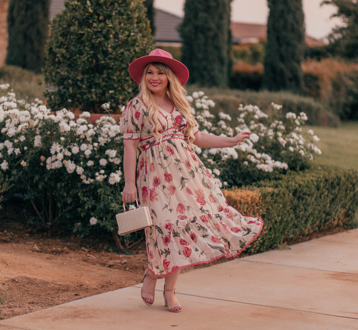Transition a Floral Dress to Fall in 3 Ways