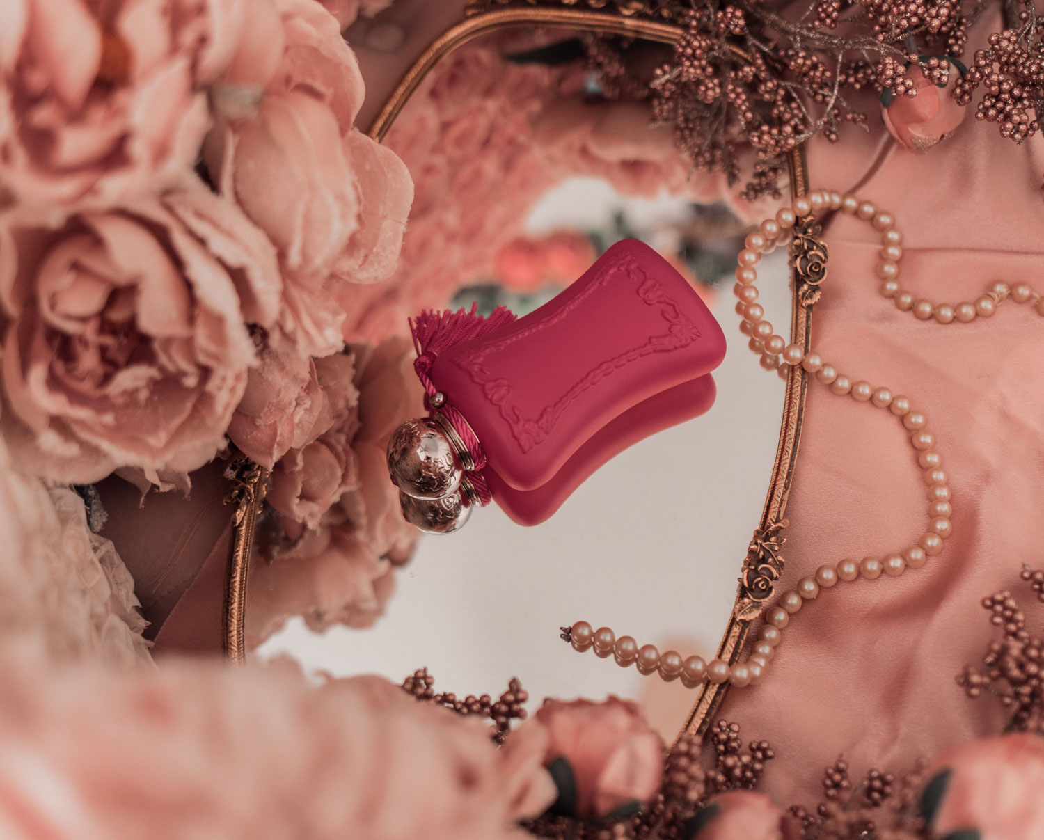 Feminine Fashion and Beauty Blogger Elizabeth Hugen of Lizzie in Lace shares her honest Parfums de Marly Oriana Review along with first impressions on this feminine fragrance